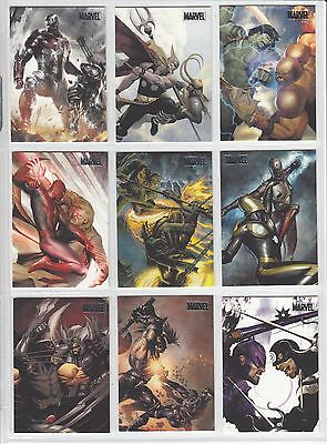 2010 Marvel Heroes & Villians SILVER - Card Singles PICK Choose Ship 25 Cents 4+