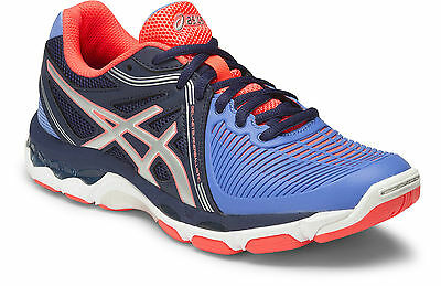 Asics Gel Netburner Ballistic Women Shoes (B)(6193)+Free Delivery Australia Wide