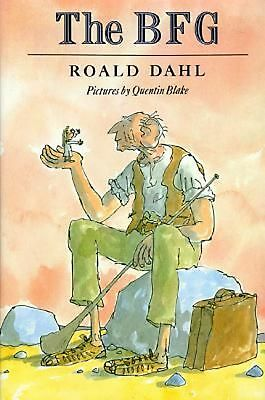 The BFG by Roald Dahl Hardcover Book (English)