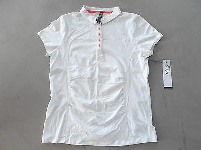 LIJA Ladies Golf Polo shirt White / Calyps Large