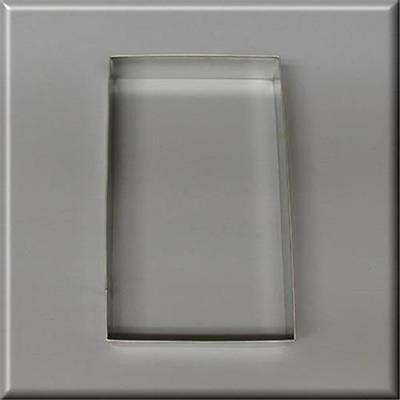 """5"""" X 3"""" Rectangle Biscuit Metal Cookie Cutter #nc9150"""