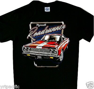 9e3ff721 1969 PLYMOUTH ROAD Runner Coupe T-Shirt for Men - Multiple Colors ...