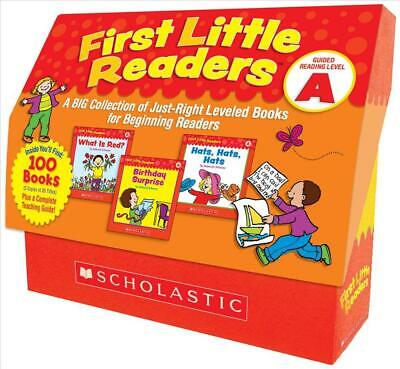 First Little Readers: Guided Reading Level a: A Big Collection of Just-Right Lev