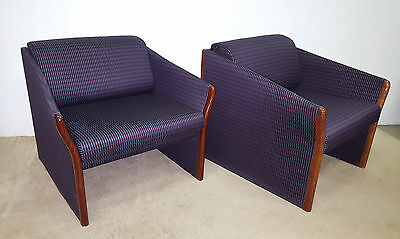 Pair of Mid Century Modern Brayton Lounge Chairs (Will Ship)
