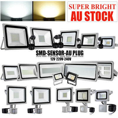 100W-500W High Power Floodlight LED SMD Outdoor Flood Spot Light 220-240V IP65