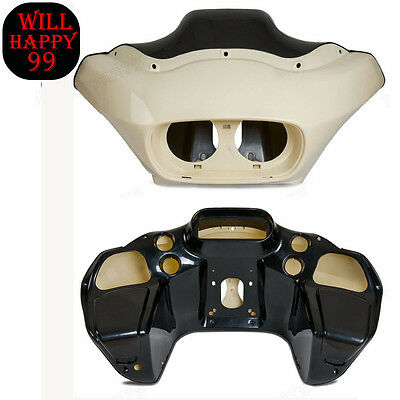 Unpainted Injection ABS Inner and Outer Fairing for Harley Road Glide 1998-2013
