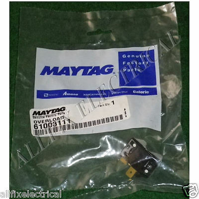 Maytag Fridge Compressor Overload Cutout - Part # 61003111, 232RFBYY-53