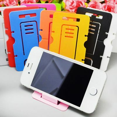 Lazy Portable Folding Card Phone Holder Stand Support Bracket Mobile Phone 10pcs
