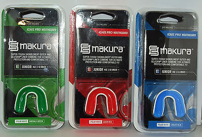 Makura Ignis Pro Gum Shield Mouthguard - Youth Up To 11 Years Old New