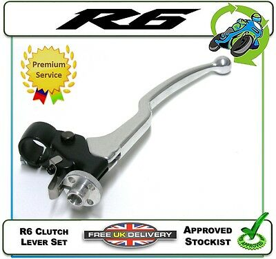New Clutch Lever Set Assembly To Fit The Yamaha Yzf-R6 R6 99 00 01 02 03 04 05