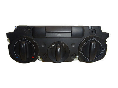 *vw Caddy Mk2 2K F/l 11-15 Heater Climate Control Panel Switch Button 2K0819047P