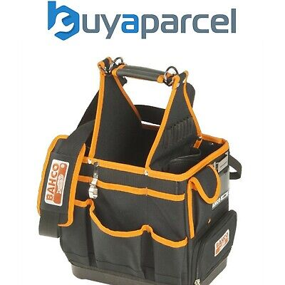 Bahco 4750FB3-12 Open Tote Tool Bag 12in Square Toolbag