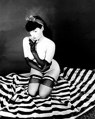 Bettie Page 61 (Playboy Pinup) Photo Print