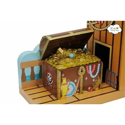 Fantasy Fields Pirates Island Set of Bookends - TD-11605A