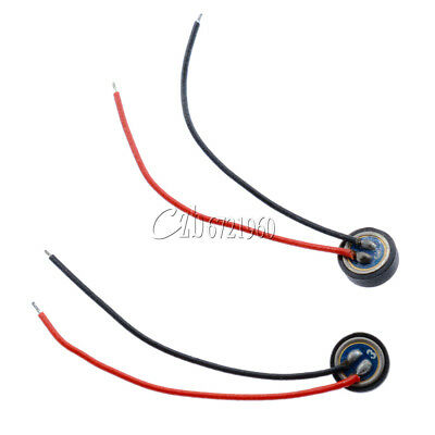 5PCS 4*1.5mm Electret Condenser 2 Leads Microphone MIC Capsule