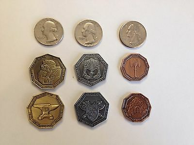 Fantasy Dwarven - Dwarf Coin - Set- LARP, Game, Role Playing, RPG