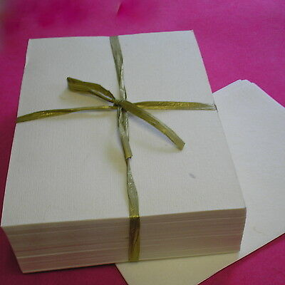 HANDMADE MULBERRY PAPER 10x10 cm & A5 SHEETS album book pages PRINT acid-free