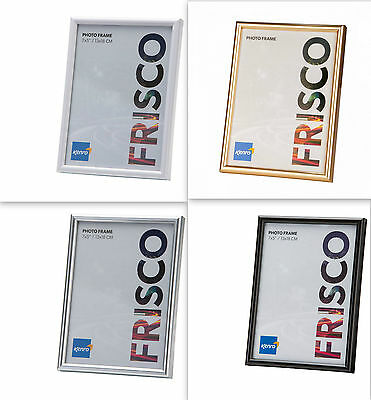 "Kenro Frisco Photo Frame 7x5"" - Silver-FR1318S"
