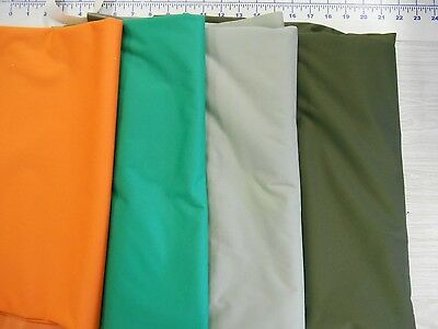 BULK polyurethane laminate WATERPROOF soft lightweight fabric some stretch 50 yd