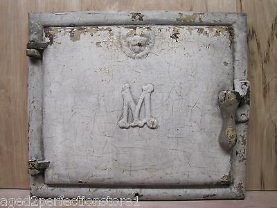Antique Majestic Co Milk & Package Receiver Door old architectural cast iron rt