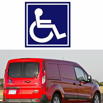 1pc Disabled Wheelchair Handicapped Sign Symbol Decal Sticker