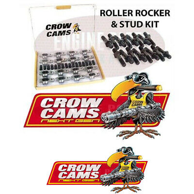 "Crow Cams Roller Rockers & Studs 3/8"" Stud 1.5:1 Holden 6 Cyl 179 186 202"