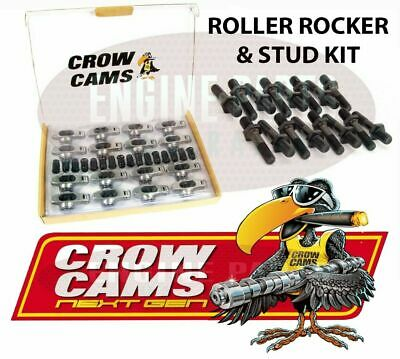 "Crow Cams Roller Rockers & Studs 7/16"" 1.72 Chev Big Block 396 427 454"