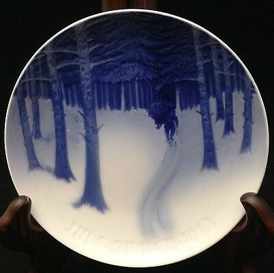 1913 bing grondahl christmas plate bring home the yule tree - Bing And Grondahl Christmas Plates