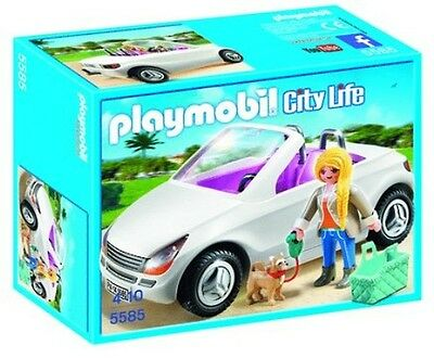 Playmobil City Life - Convertible with Woman