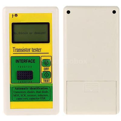Transistor Tester Diode Thyristor Capacitance LCR Meter Automatic Detection D3S4