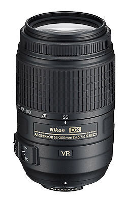 Nikon AF Zoom Nikkor 55-300mm f/4-5.6 G Lens for Nikon D3300 D3200 D5300 D5200