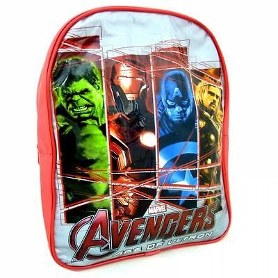 Marvel Avengers Age Of Ultron Character Boys Large School Backpack Rucksack Bag