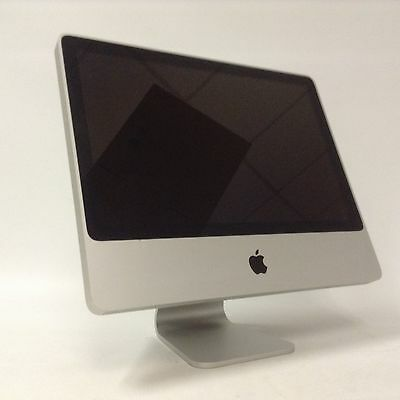 Apple iMac A1224 MB323LL/A PC All-In-One Core 2 Duo 2.4GHz 250GB 2GB  Scratched