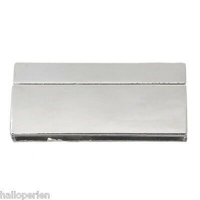 5Set Rectangle Magnet Clasp For Jewelry Making Bracelet Findings 4.2x2cm