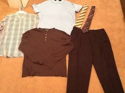 Lot of Men's Brand Name Clothes Size XL (Shirt, Henley, Polo, Dress Pant, Ties)