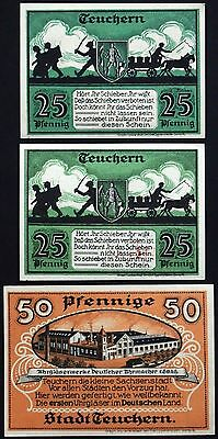 "TEUCHERN 1921 ""Profiteering is Illegal"" complete series German Notgeld"