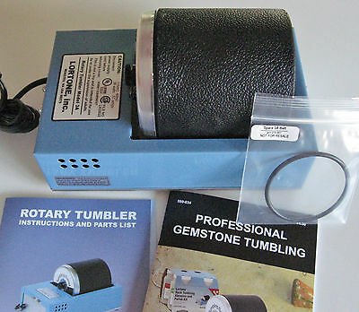 rle LORTONE 3A ROCK TUMBLER, SINGLE BARREL, 3 lb. EXTRA BELT INCLUDED low price!