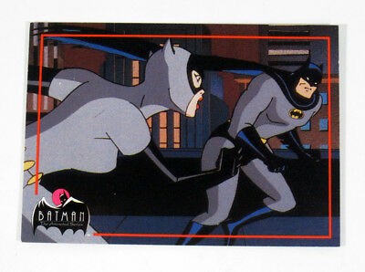 1993 Topps Batman Animated Series 2 Promo Card (Unnumbered) Nm/Mt