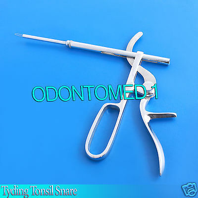 Tyding Tonsil Snare Surgical Instruments New