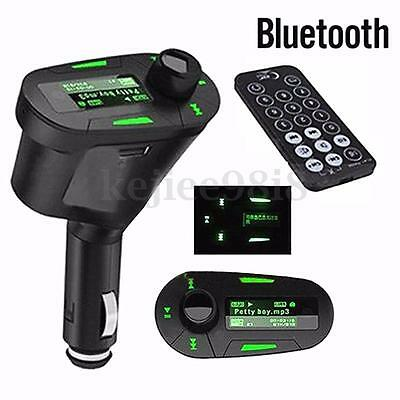 Sans Fil LCD Kit Voiture Bluetooth MP3 FM Transmetteur SD USB Chargeur DC12V-24V
