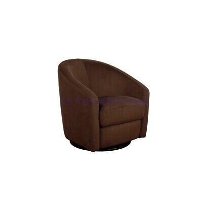 babyletto Madison Swivel Glider in Mocha - M5887MO
