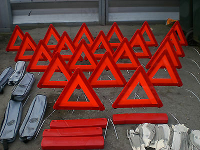 20x Warning Triangles Genuine Hella Made Exclusively for MG Rover Part SAC880662