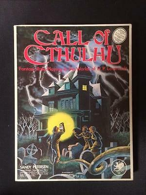 Call of Cthulhu 3rd Edition Box Set Chaosium 2301-X Compete