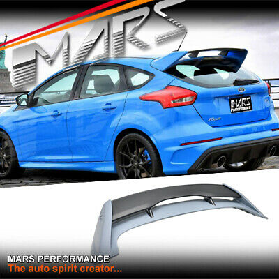 RS Style ABS Plastic Trunk Spoiler Wing for Ford Focus LZ LW Hatch 2012-2017