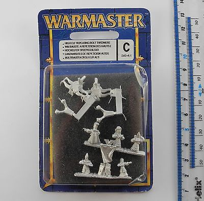 Warmaster HIGH ELF REPEATING BOLT THROWERS Metal Elves Army Blister Pack 1999 G3