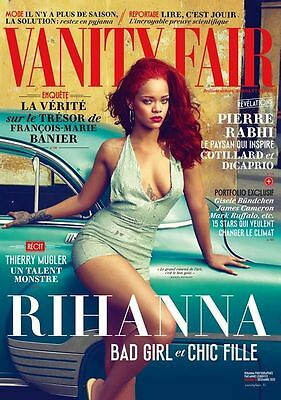 Rihanna French Vanity Fair Magazine December 2015 Mag France