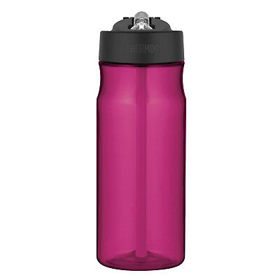 Thermos 530ml Hydration Bottle With Straw Sports Water Drinks Tumbler Magenta