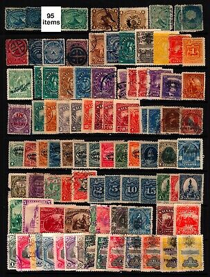 El Salvador #1-#0160 1867-1907 Mint & Used Lot 96 items