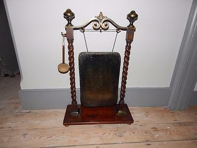 Rare Antique Dinner Gong - Very Downton Abbey