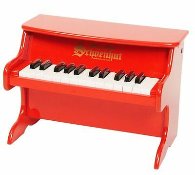 BRAND NEW Schoenhut Red 25 Key My First Tabletop Piano Childrens Toy